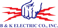 B & K Electric Inc. Logo